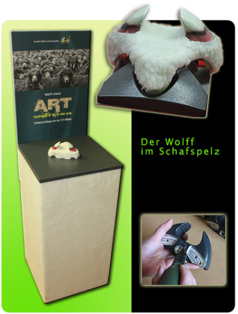 B3D-Studio: 3D Objekt, Display, Aufsteller, Präsentationssäule, Ausstellungs Display, Produkt Pimping, Giveaway