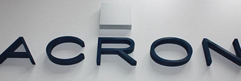 Text aus Forex PVC Hartschaum