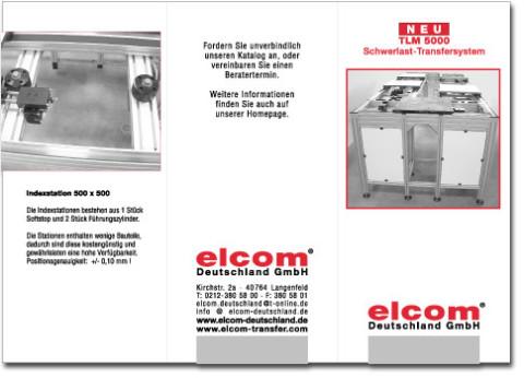 B3D-Studio: Prospekt Gestaltung, Druckvorlagen