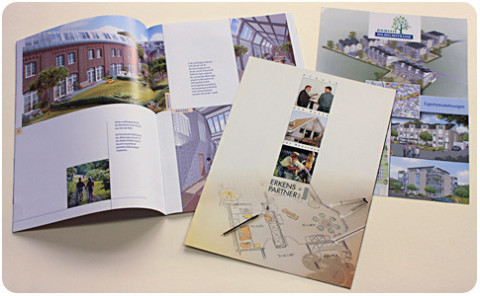 B3D-Studio: Prospekt Gestaltung, Druckvorlagen, Immobilien Marketing, Verkaufsprospekte
