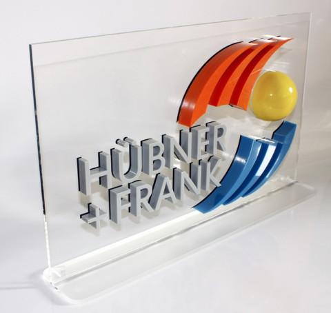 B3D-Studio: 3D Schild, 3D Buchstaben, 3D Logo, Schild, Werbeschild, Acrylglas Display, Plexiglas Aufsteller