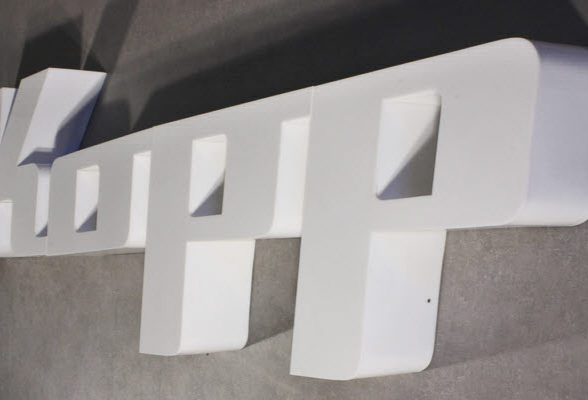 B3D-Studio: LED Buchstaben, 3D Logos, Leuchtbuchstaben, Profilbuchstaben, Profil 8 Buchstaben, Plexiglas Buchstaben, Lichtwerbung,  Werbetechnik, Werbeanlage, Lichtreklame