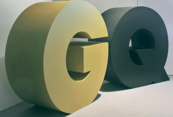 3D Buchstaben, EPS-Hartschaumbuchstaben, Styroporkern mit Deckschichten und Gipsflanken, , Buchstaben mit Hartbeschichtung