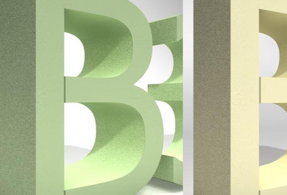 3D Buchstaben, Styrodur Hartschaumbuchstaben, Styrodurbuchstaben, Styrodur Logo, 3D Logo