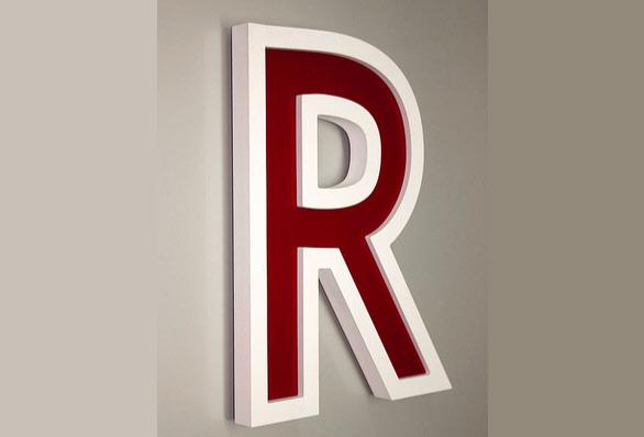 B3D-Studio, 3D Buchstaben, 3D Logo, PVC Buchstaben, Buchstaben aus Kunststoff, Plastik Buchstaben