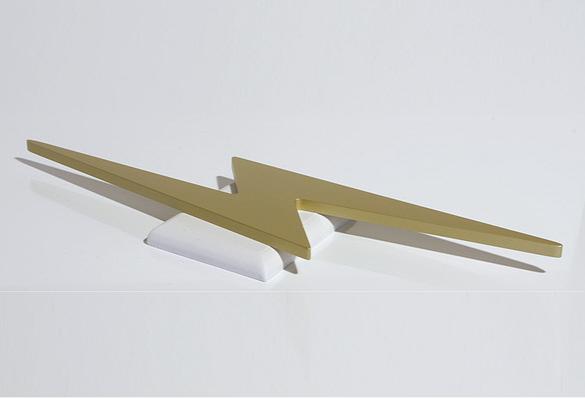 3D Objekt / Symbol aus lackiertem Polystyrol