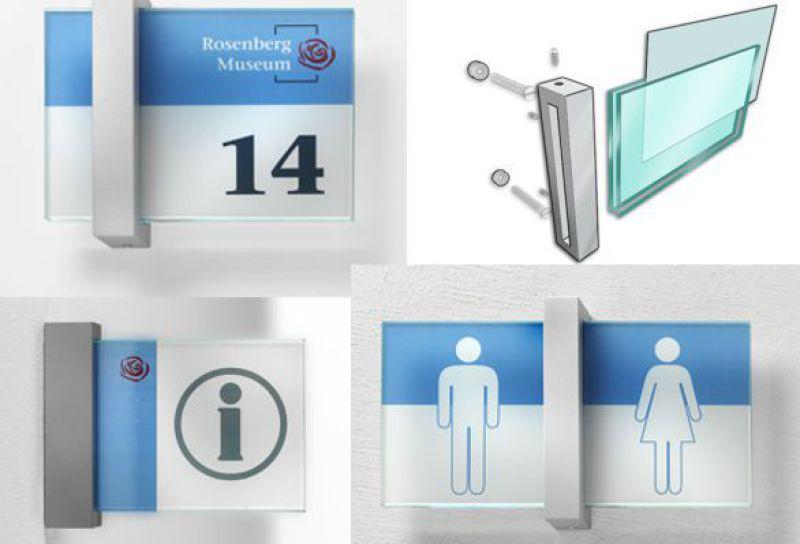 B3D-Studio: Schilder, Infoschild, Innenraum Schild, Orientierungsschilder, Wegeleitschilder, Leit- und Orientierungsystem