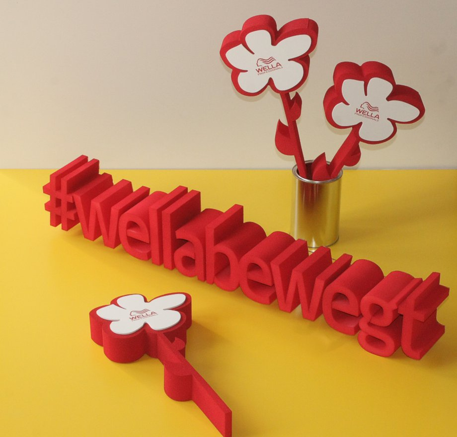3D Text und Objekte aus Weichschaum