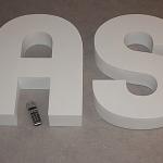 Logo / Text aus Hartschaum