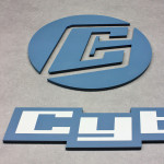 PVC-Hartschaum Buchstaben