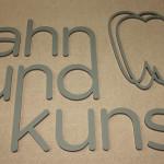 8 mm Acrylglas Buchstaben, lackiert