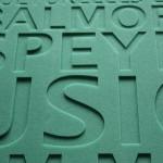 3D Buchstaben PE Weichschaum Text