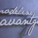 3D Buchstaben ausPVC-Hartschaum
