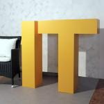 3D Buchstaben aus EPS Hartschaum