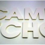 3D Buchstaben aus Kapaline PUR-Schaumkarton