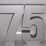 3D Buchstaben aus XPS Hartschaum (Styrodur)