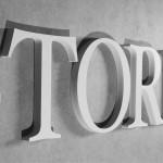 3D Buchstaben aus PVC Hartschaum