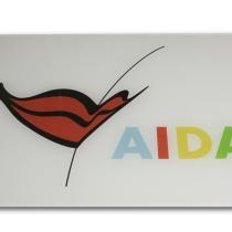 Acrylglas Schild