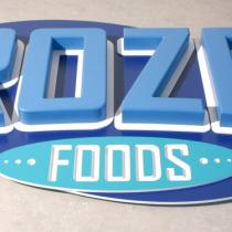 3D Buchstaben und Logo aus XPS- und PVC-Hartschaum