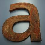B3D-Studio: 3D Buchstaben, Rosteffekt, Rostlack, Vintage Buchstaben