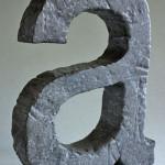 B3D-Studio: 3D Buchstaben, Steineffekt, Buchstaben mit Steinoberfläche