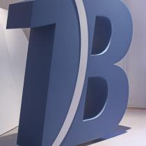 B3D-Studio, 3D Buchstaben, 3D Logo, Styroporbuchstaben, Styrodur Buchstaben, XPS Buchstaben, freistehende XXL Buchstaben, EPS Hartschaum Buchstaben mit gespachtelter Oberfläche