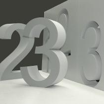 B3D-Studio, 3D Zahlen, 3D Ziffern, 3D Buchstaben, 3D Logo, Styroporbuchstaben, Styrodur Buchstaben, XPS Buchstaben, freistehende XXL Buchstaben, EPS Hartschaum Buchstaben