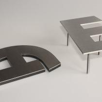 B3D-Studio: 3D Buchstaben, 3D Logo, Edelstahlbuchstaben, Acrylglas Buchstaben, Plexiglas Buchstaben, Sandwich Buchstaben