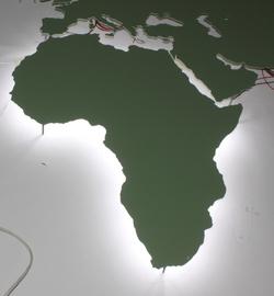 B3D-Studio: 3D Weltkarte, leuchtende Wandkarte, LED Weltkarte, 3D Europakarte, 3D regional Karte, Weltkarte aus Metall, Weltkarte aus Metall, Weltkarte aus Aluminium, Wandkarte aus Edelstahl