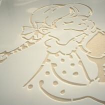 B3D-Studio: Stencil, Schablone, Mylar Schablone, PET Schablone, Kunststoff Schablone, Kennzeichnungsschablone, Sprühschablone