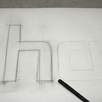 B3D-Studio: Pausschablone aus Papier
