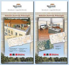 Tafeln für Immobilienausstellungen