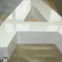 B3D-Studio: 3D Buchstaben, 3D Logos, Profilbuchstaben, Profil 01 Buchstaben, Aluminium Buchstaben, Metallbuchstaben, Reliefbuchstaben, Detailfoto