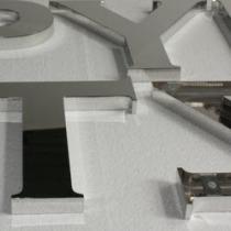 B3D-Studio: 3D Buchstaben, 3D Logos, Profilbuchstaben, Profil 01 Buchstaben, Edelstahl Buchstaben, Metallbuchstaben, Reliefbuchstaben, Premium Profilbuchstaben, Chrombuchstaben